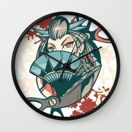 Waifu Kuchisuke Onna Wall Clock