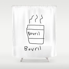 Bovril Shower Curtain