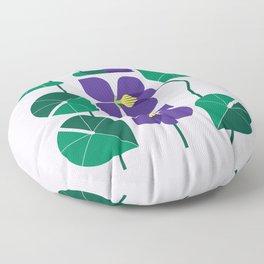 Blue Violet Floor Pillow