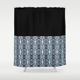 Paris Mozaic Pattern Shower Curtain