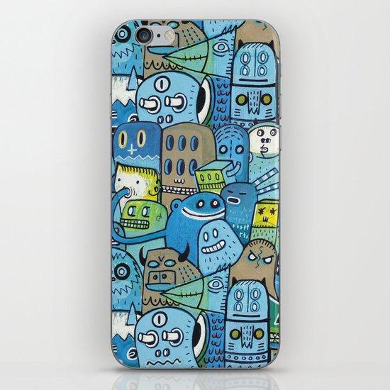 Quai n°12 iPhone & iPod Skin