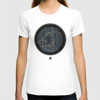 skyrim T-shirts featuring Shield's of Skyrim - Windhelm by VineDesign