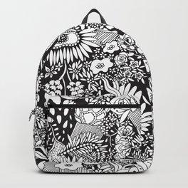 Flower Pattern by Hayley Lauren Design  Backpack