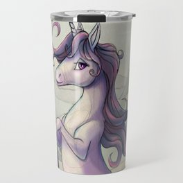 Last Unicorn by the Castle Travel Mug