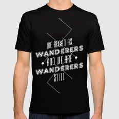 Wanderers - MSL/Curiosity Commemoration Print Mens Fitted Tee Black MEDIUM
