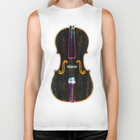 cello Biker Tanks featuring Cello by J.Lauren