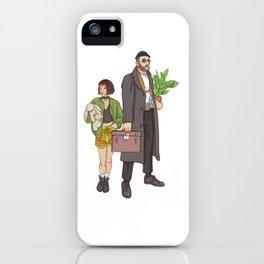Matilda & Leon iPhone Case