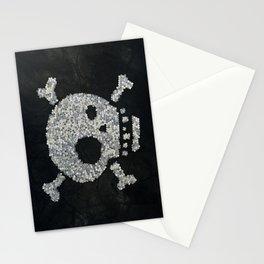 Confetti's skull Stationery Cards