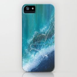 Enchanting Waves iPhone Case