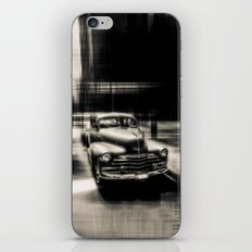 Attracting Curves iPhone Skin