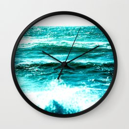 California Ocean Waves Wall Clock
