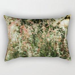 Flowers in the sun Rectangular Pillow