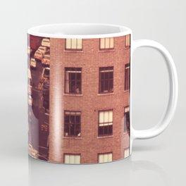 Looking Down on Sixth Avenue Traffic at 40th Street (1973) Coffee Mug
