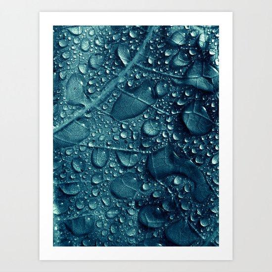 blue water XVI Art Print
