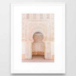 Marrakech Ben Youssef Madrasa Framed Art Print