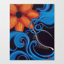 Sensual Blue Canvas Print