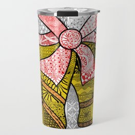 Coloured Christmas Bells Travel Mug