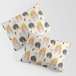 Tree Little Pigs Pillow Sham