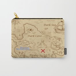 Treasure map Carry-All Pouch