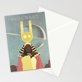 SUN RA: SPACE IS THE PLACE Stationery Cards
