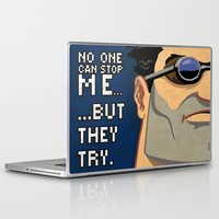 skyrim Laptop & iPad Skins featuring Ben by Be Yourself