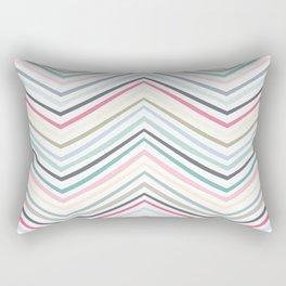 Eve Modern Multicolor Stripe Rectangular Pillow