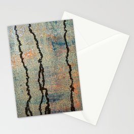 Metal Rain II Stationery Cards