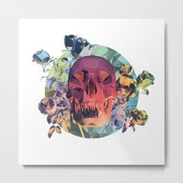 Low Poly Death Metal Print