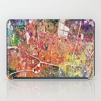 london map iPad Cases featuring London map  by mark ashkenazi