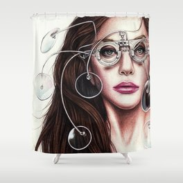 TechHAUS Shower Curtain