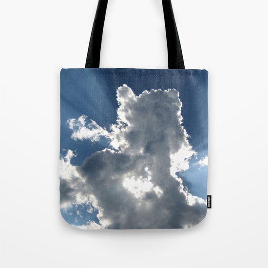 Cloud & Sunbeam Tote Bag