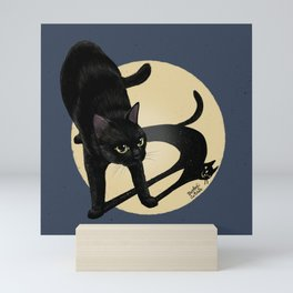 Naughty shadow Mini Art Print