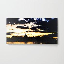 Sunrise Djurgården Stockholm 1 Metal Print