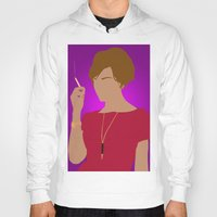 mad men Hoodies featuring Joan Holloway - Mad Men by Tom Storrer