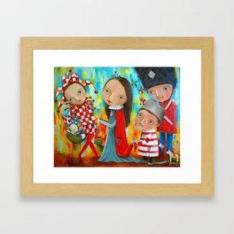 Little Hen Framed Art Print
