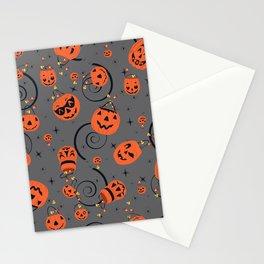 Halloween Magic- Grey Stationery Cards