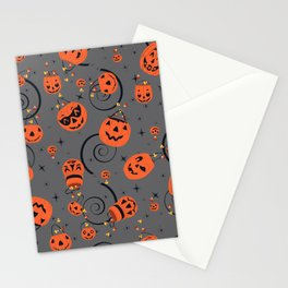 Halloween Magic- Grey Stationery Cards