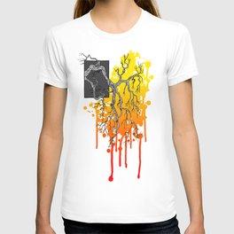 Liquid Autumn Leaves (Light) T-shirt