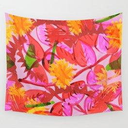 Hummingbirds nest Wall Tapestry