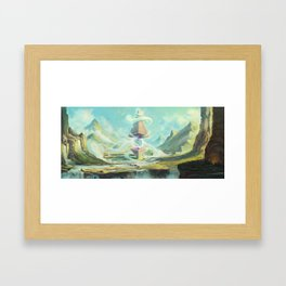 Temple of Air Framed Art Print
