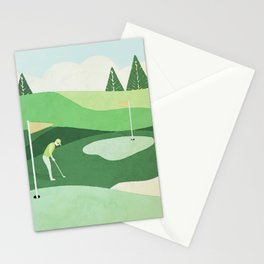 On The Green Two Stokes Under Stationery Cards