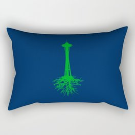 Seattle Roots Rectangular Pillow