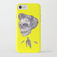 johnny cash iPhone & iPod Cases featuring Johnny Cash by Christos Skouras