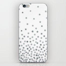 STARS SILVER iPhone Skin