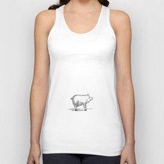 Pig Unisex Tank Top