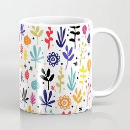 autumn multicolor leaves Coffee Mug