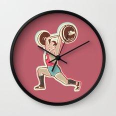 Forzudo Wall Clock