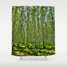 Birch Grove Shower Curtain