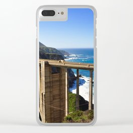 Bridge Over Troubled Water Clear iPhone Case