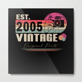 16th birthday, 16th birthday vintage, 16th Metal Print